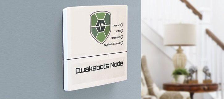 Sconti QuakeBots: dispositivo di allarme sismico