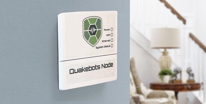 QuakeBots, il dispositivo antisismico per mettere in sicurezza la tua casa