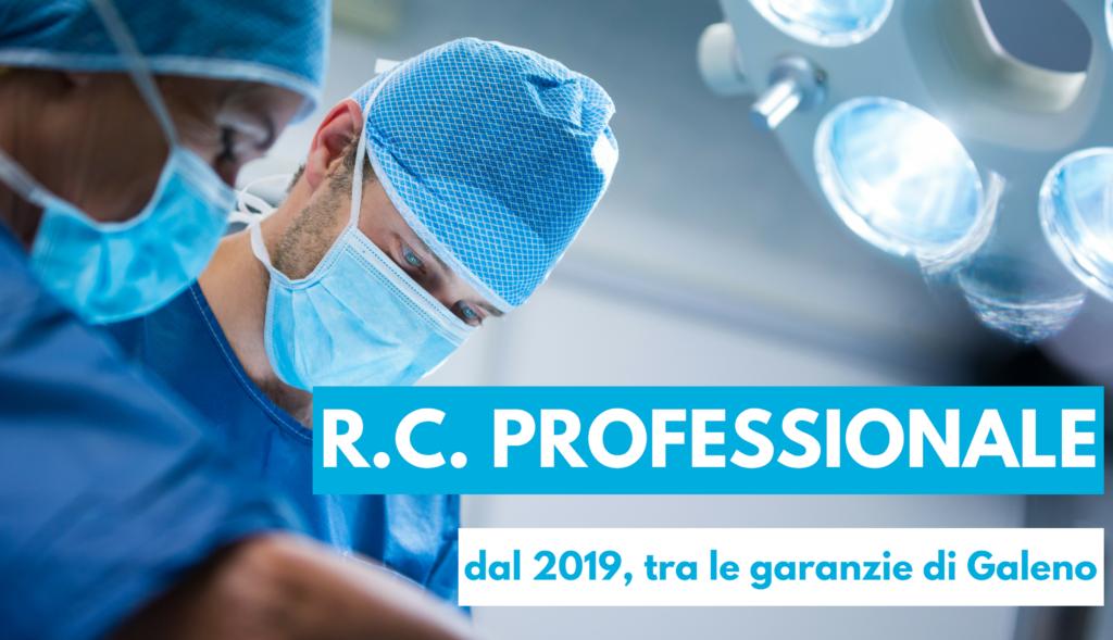 R.C. Professionale, dal 2019 tra le garanzie di Galeno