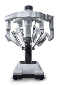 robot da Vinci in chirurgia robotica