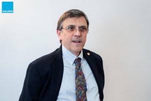 Alfredo Cuffari, consigliere Galeno e presidente del collegio dei revisori dei conti dell'Ordine dei medici di Roma