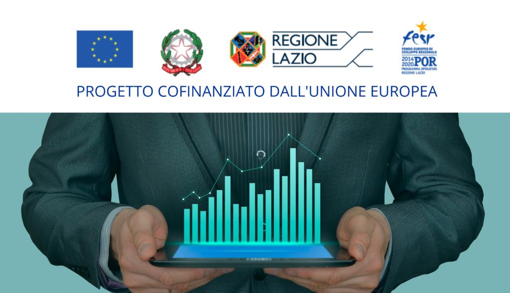 Il progetto, cofinanziato dall'Unione Europea, è realizzato con il contributo del Fondo Europeo di Sviluppo Regionale - Programma Operativo Regionale del Lazio.